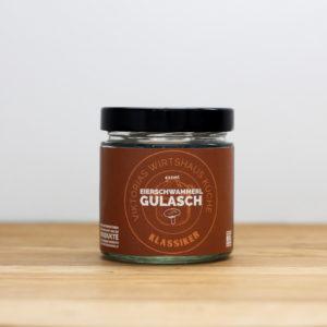 Gulasch aus Pfifferlingen - auch Eierschwammerl genannt